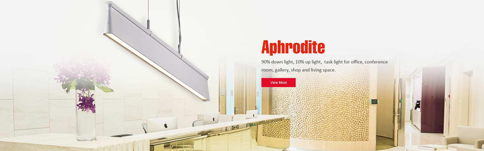 LED Linear Lamp, LED Office Lighting Fixture, Fluorescent Lighting Fixture,  LED Table Lamp Supplier