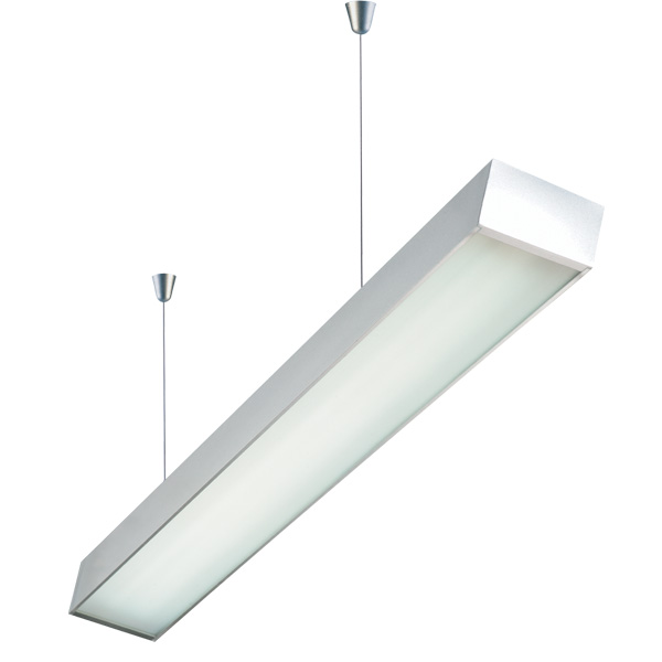 DZ4-1602I T5 suspension indoor lamp, modern simple design, for office and commercial and residential use.