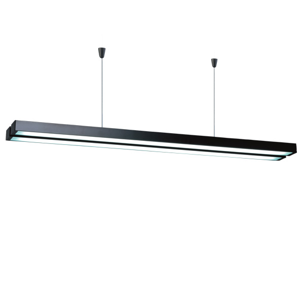 DZ-1602I  T5 suspension indoor lamp, modern T5 simple linear lamp,industrial wind chandeliers lamp,for office conference room restaurant use.