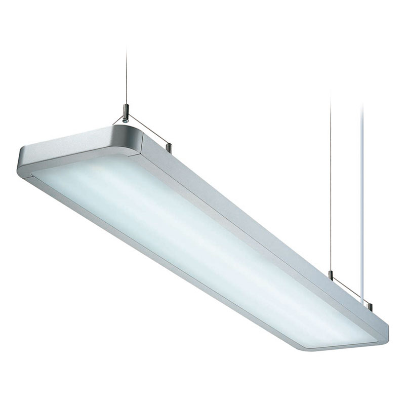 DZ7-1603U/1604U round fillet T5 fluorescent lamp, office chandelier, aluminum hanging lights, for office, factory, shopping malls, living room