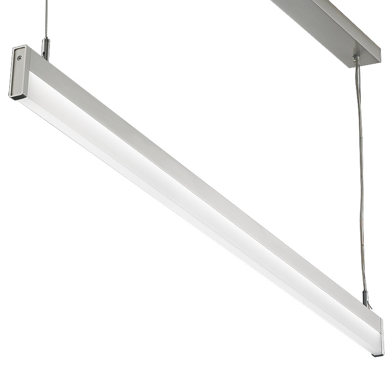 Led Light Enclosed Fixture: LED Suspension Linear Lamp Aluminium Lighting Fixture