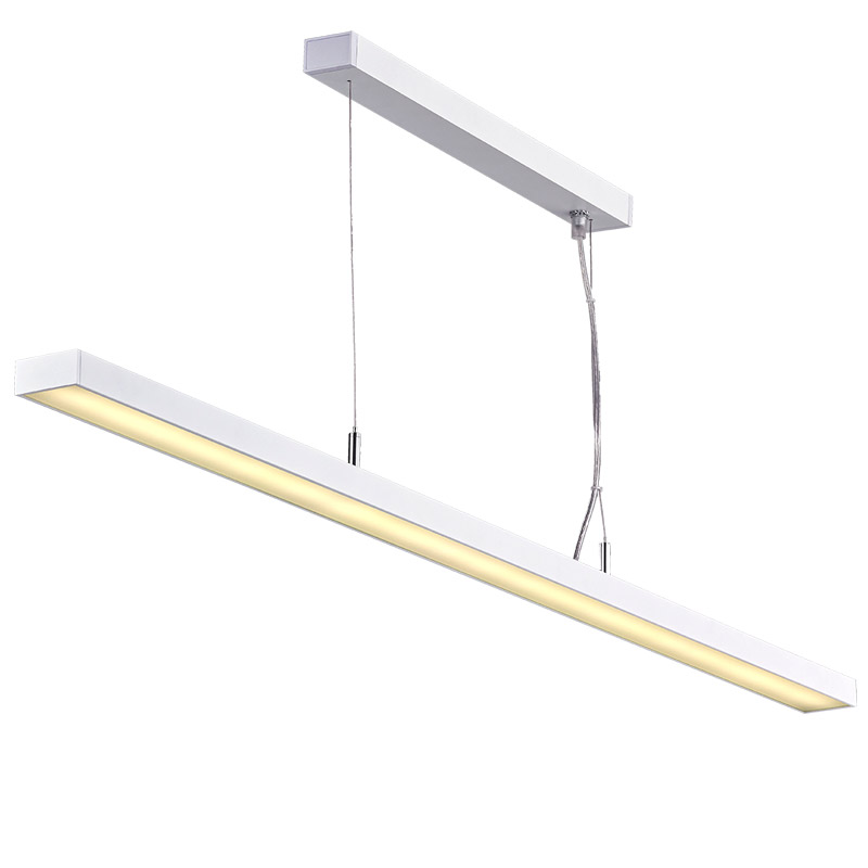 office chandelier lighting. LED Suspension Linear Lamp Aluminium Lighting Fixture Ultra Thin  Indoor Chandelier For Office And