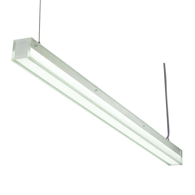 LED-017 LED ceiling mounted linear light indoor lamp for office and commercial and residential use.
