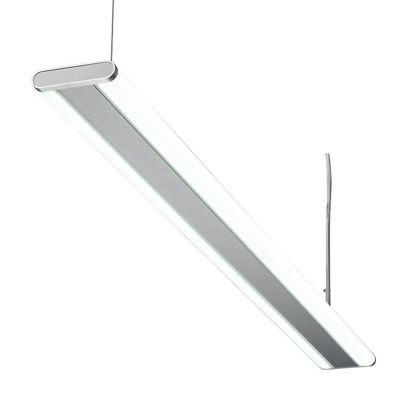LED-015 LED ceiling mounted linear light indoor lamp for office and commercial and residential use.