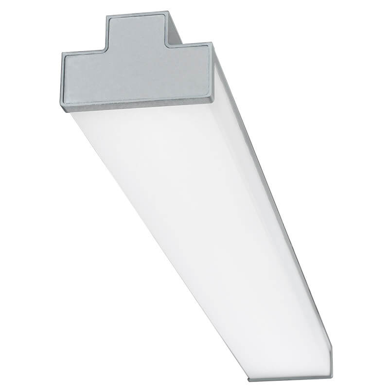 LED-042 LED ceiling mounted linear light indoor lamp for office and commercial and residential use.