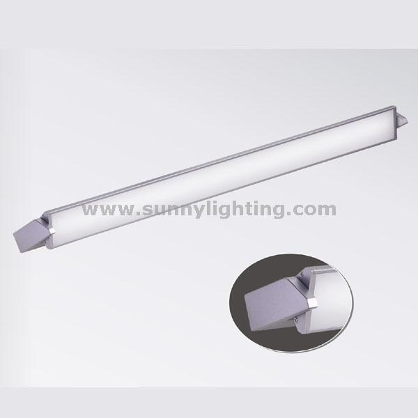 LED-PJ1601X LED linear wall lamp rotatable up and down lamp for residential corridors office use and architectural use.