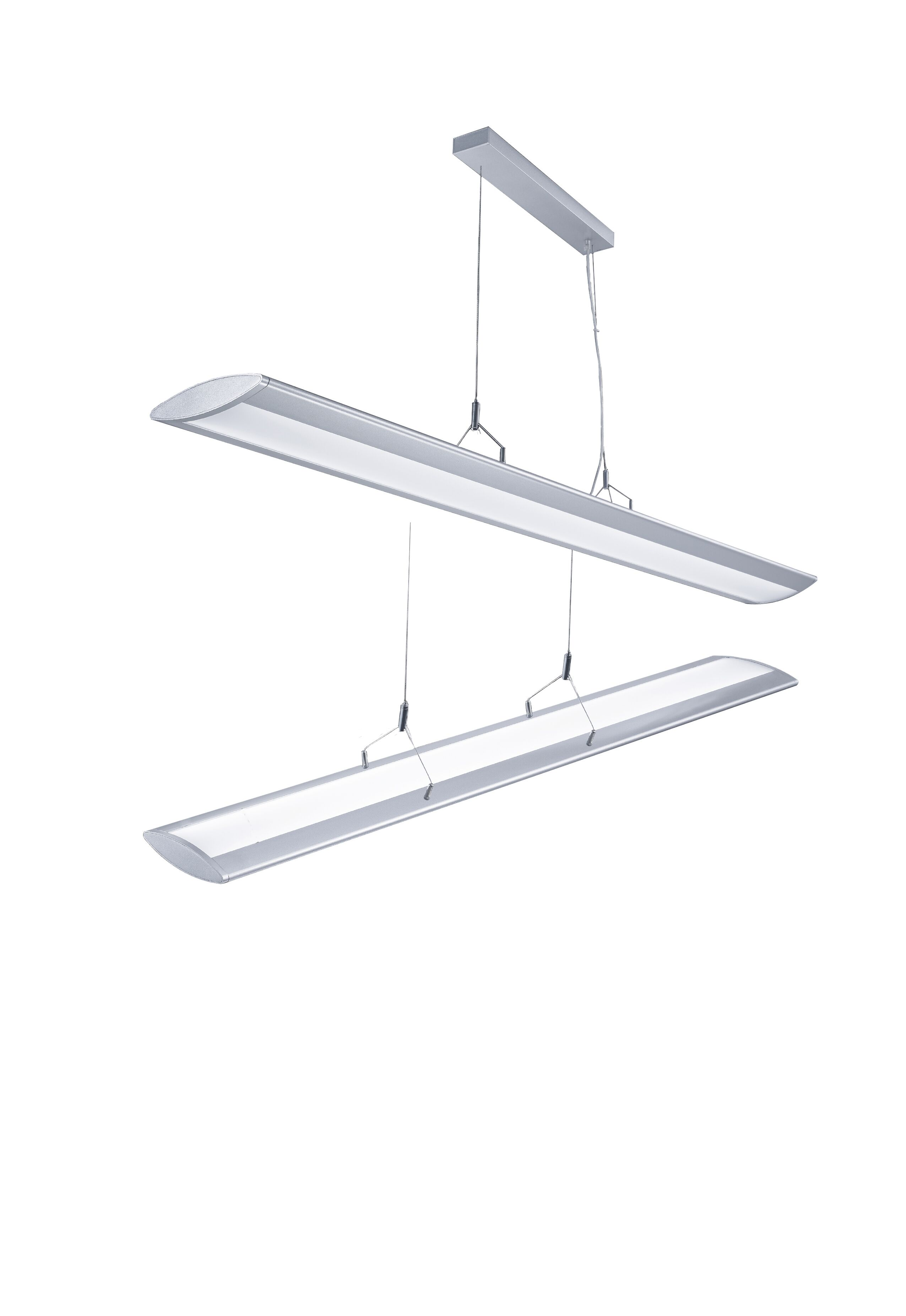 Led Suspension Linear Lamp Aluminium Lighting Fixture Up And Down Light Indoor Chandelier For Office